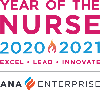 ANA Year of the Nurse 2020-2021 Logo Color