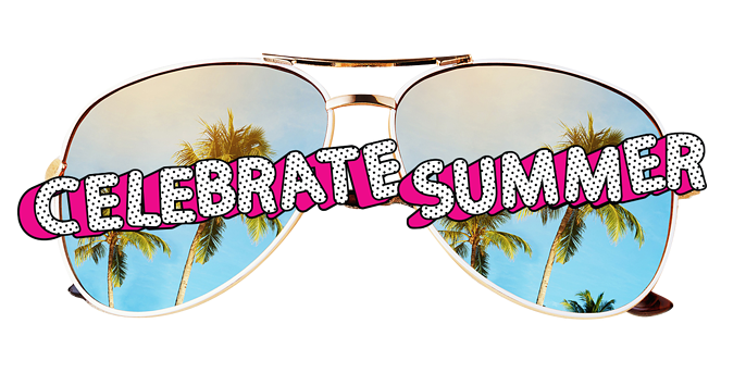 celebrate summer sunglasses